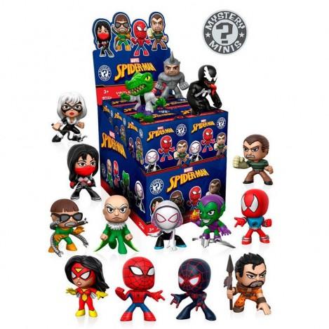 Figura Mystery Minis Spiderman Marvel