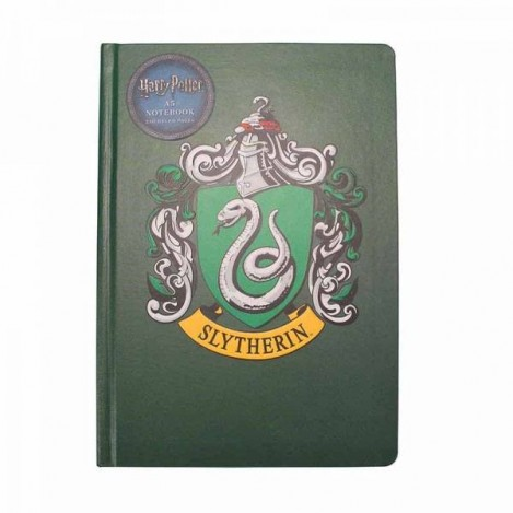 Libreta A5 Slytherin - Harry Potter