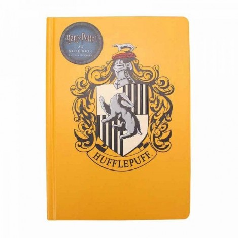 Libreta A5 Hufflepuff - Harry Potter