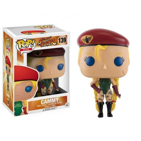 Figura Funko POP Cammy - Street Fighter