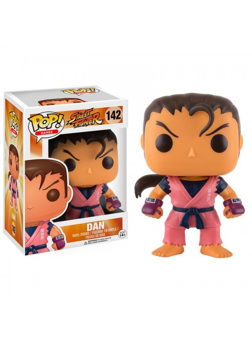 Figura POP Vinyl Dan - Street Fighter