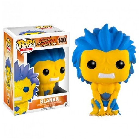 Figura Funko POP Blanka Hyper Fighting Exclusive - Street Fighter