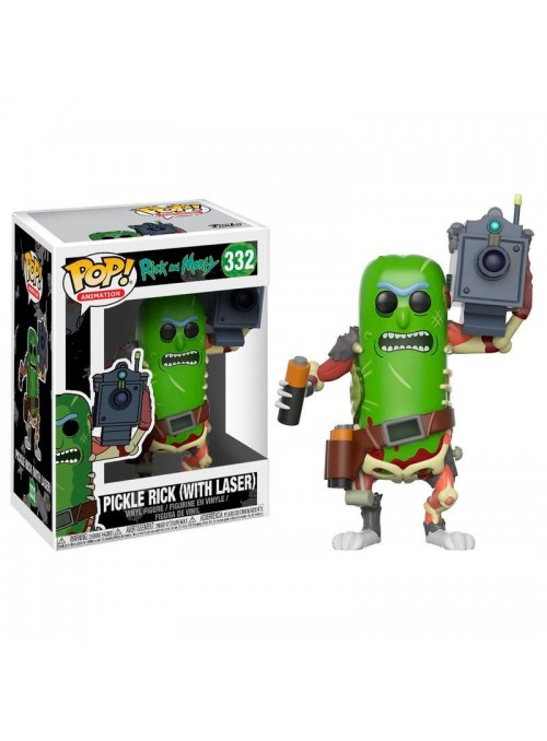 Figure Funko POP Pickle Rick with Laser - Rick and Morty