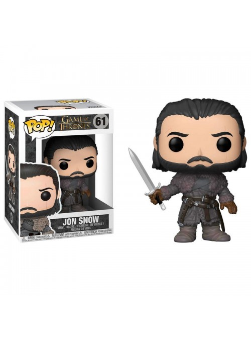 Figura POP Jon Snow Beyond the Wall - Game of Thrones