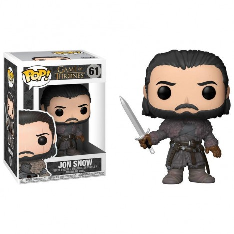 Figura Funko POP Jon Snow Beyond the Wall - Juego de Tronos