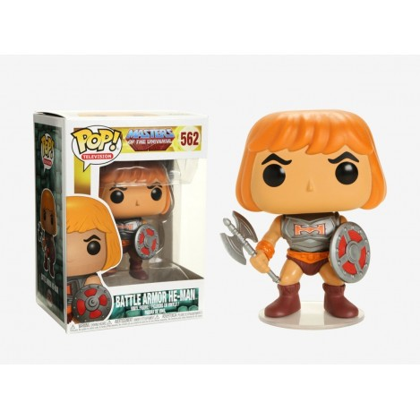 Figure POP he-Man with armor - Masters of the Universe