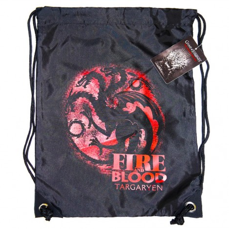 Fabric backpack black Targaryen - Game of Thrones
