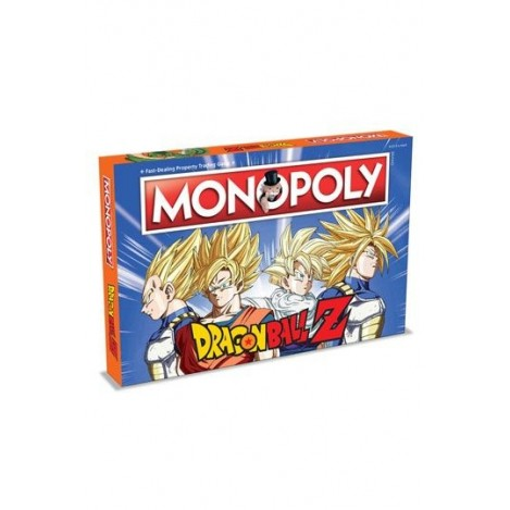 Dragonball Z Board Game Monopoly (English Edition)