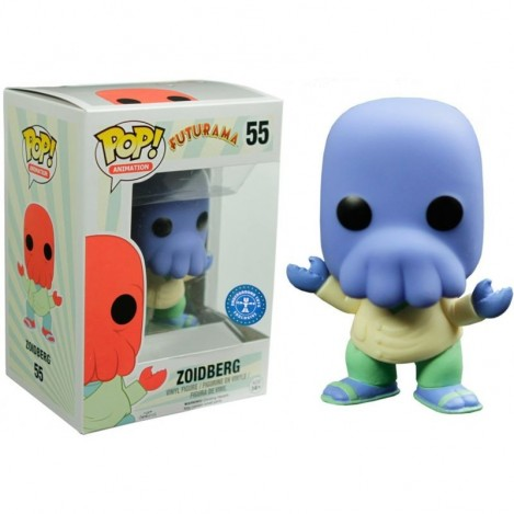 Figura Funko POP Blue Zoidberg Exclusive - Futurama
