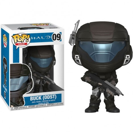 Figura Funko POP Soldado de Choque de Descenso Orbital Buck con casco - Halo