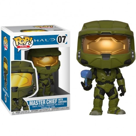 Figure Funko POP Master Chief with Cortana - Halo