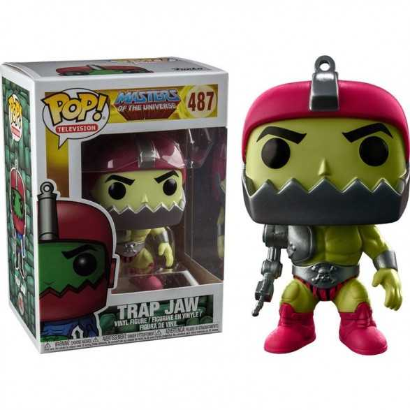 Figura POP Trap Jaw Metallic - Master Of The Universe Exclusive