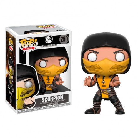 Figura Funko POP Scorpion - Mortal Kombat