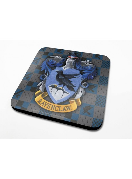 Pack of 6 Coasters Ravenclaw Crest - Harry Potter