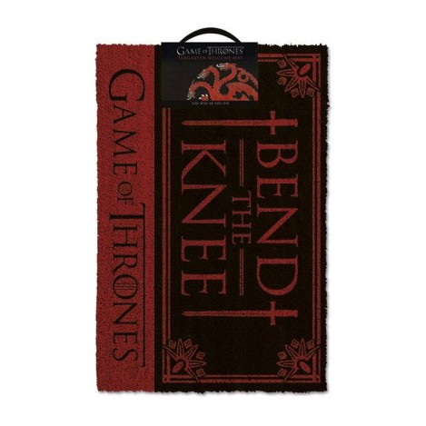Doormat Bend the Knee 40 x 57 cm - Game of Thrones