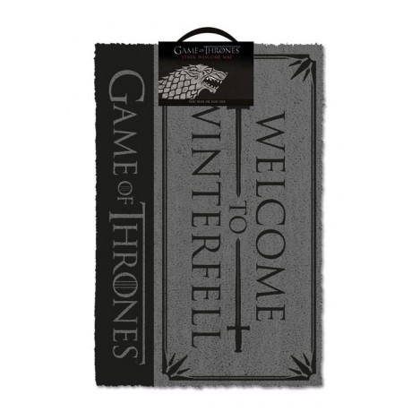 Doormat Welcome to Winterfell 40 x 57 cm - Game of Thrones
