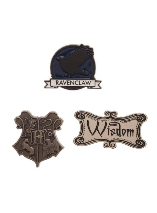 Pack 3 Chapas Ravenclaw - Harry Potter