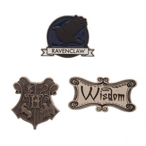 Set Pin Ravenclaw - Harry Potter