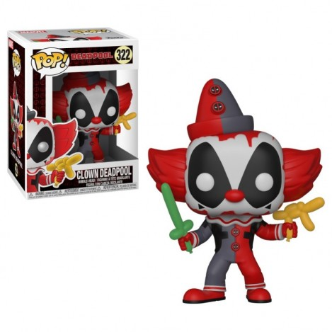 Figura Funko POP Parody Deadpool Clown - Marvel Deadpool