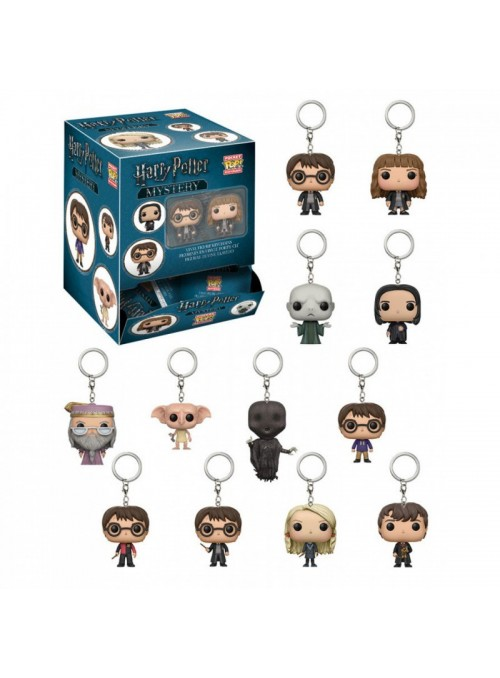 Llavero Pocket Funko POP Harry Potter sobre sorpresa