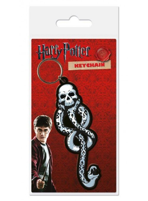 Llavero caucho Dark Mark 6 cm - Harry Potter