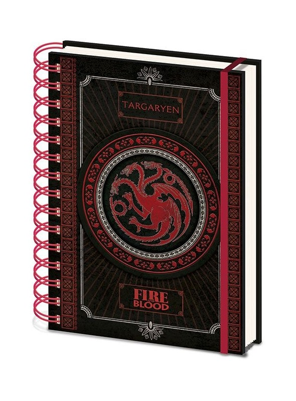 Book A5 Wiro Targaryen - Game of Thrones