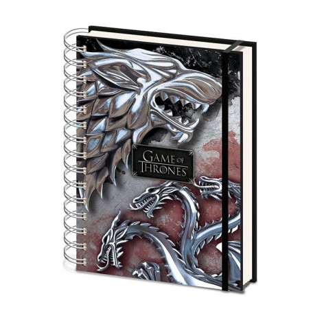 Book A5 Wiro Stark & Targaryen - Game of Thrones