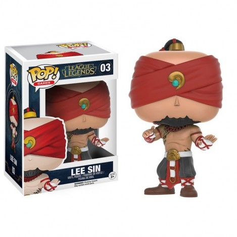 Figura Funko POP Lee Sin - League of Legends