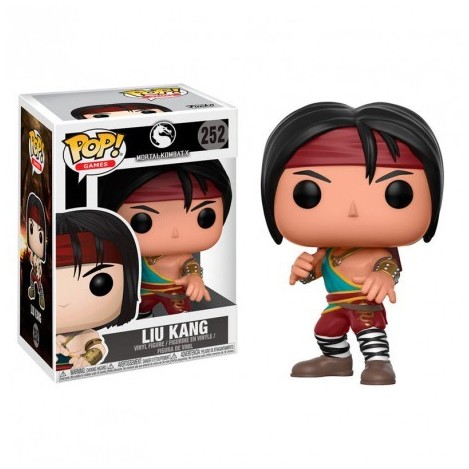 Figure POP-Liu Kang - Mortal Kombat