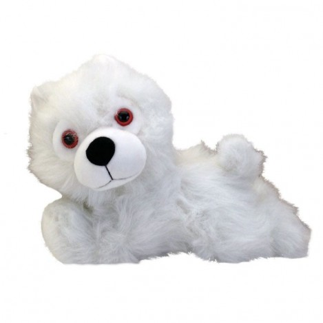Stuffed Ghost Direwolf 23 cm - Game of Thrones