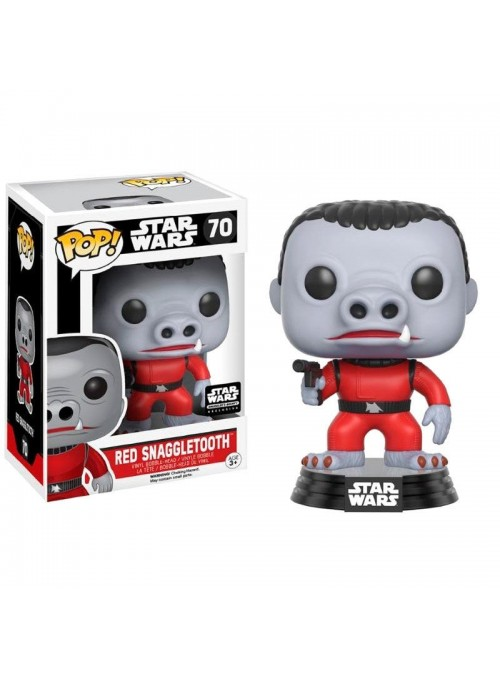 Figura POP Star Wars Cantina Red Snaggletooth Exclusive - Star Wars