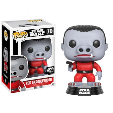 Figura Funko POP Cantina Red Snaggletooth Exclusive - Star Wars