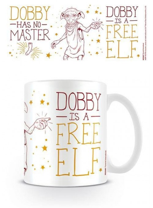 Taza Dobby is a Free Elf - Harry Potter