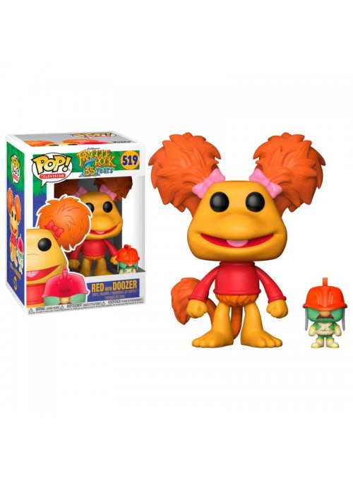 Figura Funko POP Red with Doozer - Fraggle Rock