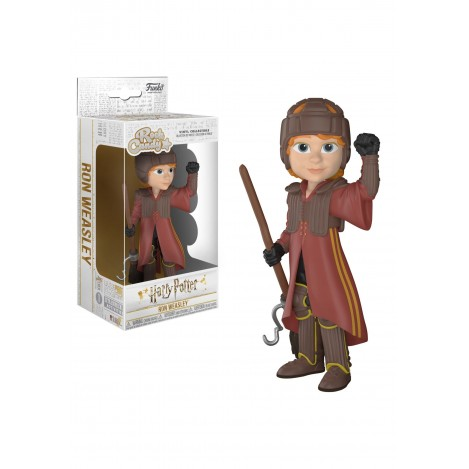 Figura Vinyl Rock Candy Ron in Quidditch Uniform - Harry Potter