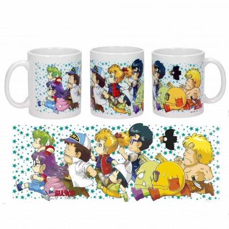 Cup Characters running - Dr Slump