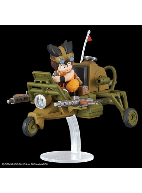 Son Goku jet buggy model KIT VOL 4 Replica 8 CM - Dragon Ball