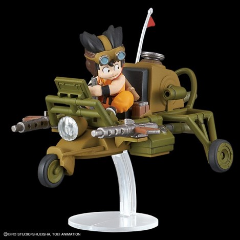 Son Goku jet buggy model KIT VOL 4 Réplica 8 cm - Dragon Ball