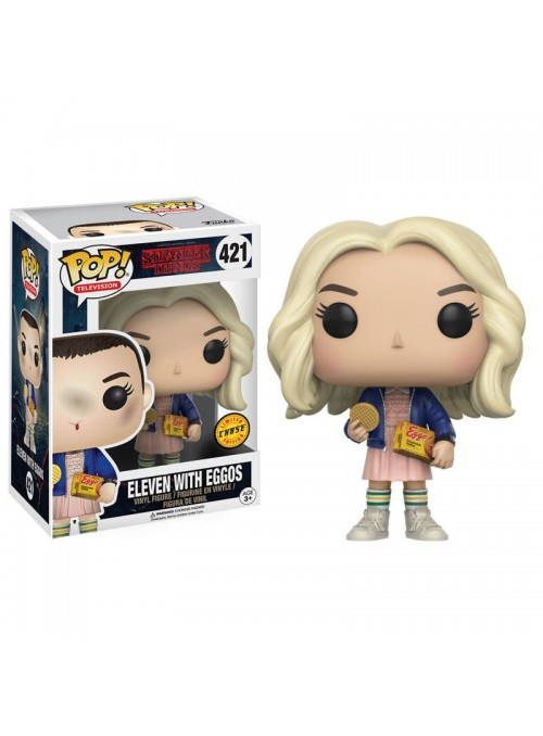 Figure POP Eleven with Eggos Chase - Stranger Things