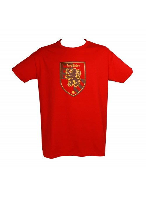 Camiseta roja Gryffindor - Harry Potter