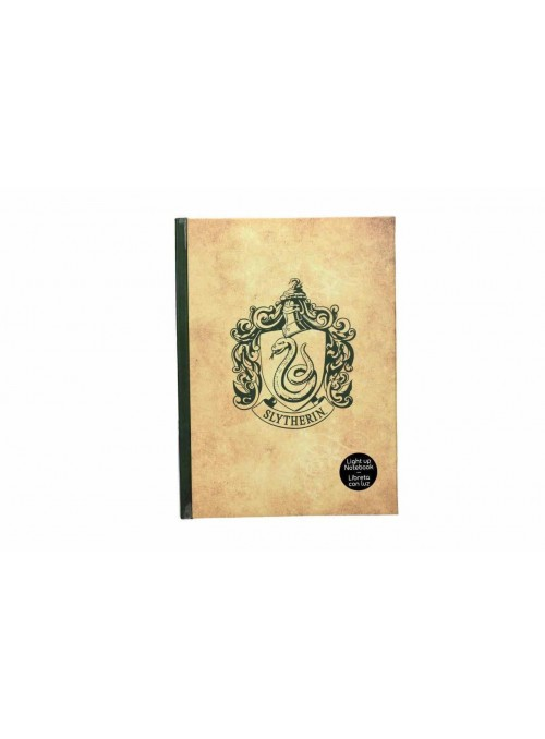 Book with Light Slytherin - Harry Potter