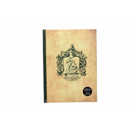 Libreta con Luz Slytherin - Harry Potter