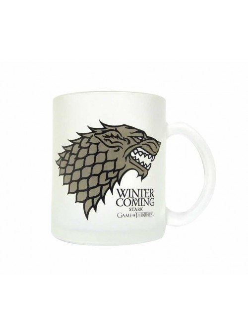 Mug Stark white - Game of Thrones