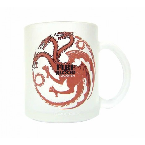 Mug Targaryen white - Game of Thrones