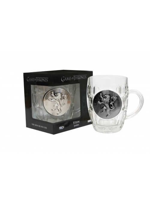 Pitcher Crystal Shield Lannister - Game of Thrones
