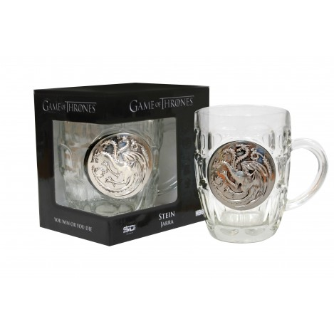 Pitcher Crystal Shield Targaryen - Game of Thrones