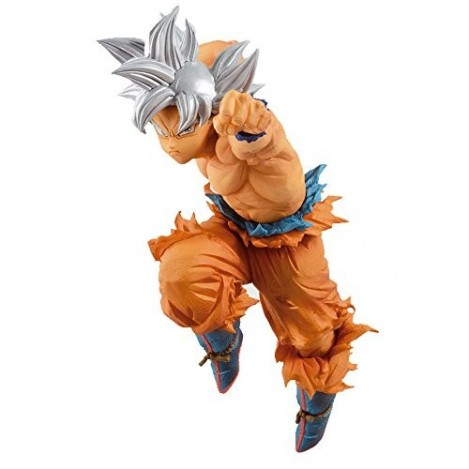 Figura de Son Goku New Form Ultra Instinct 28 cm - Dragon Ball