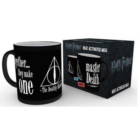 Taza sensible al calor Deathly Hallows - Reliquias de la muerte - Harry Potter