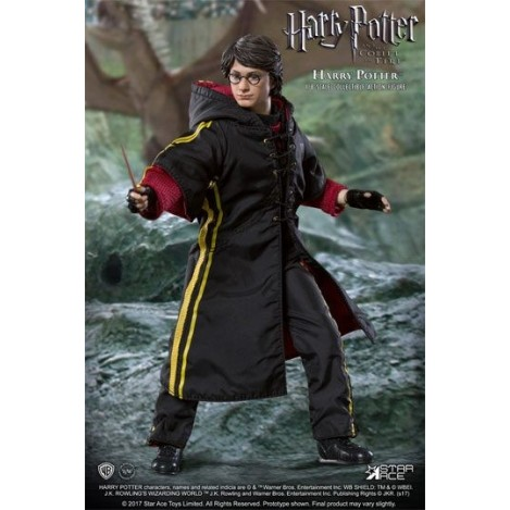 Figura 1/8 Harry Potter Torneo de los tres magos Quidditch Flash 23 cm - Harry Potter