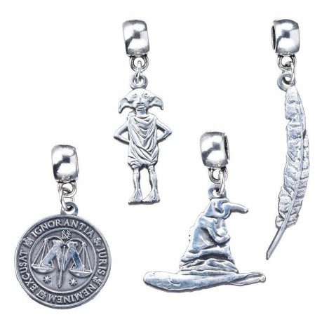Set 4 hanging Charm Collection Harry Potter assortment